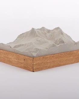 Eiger-Moench-Jungfrau-Relief